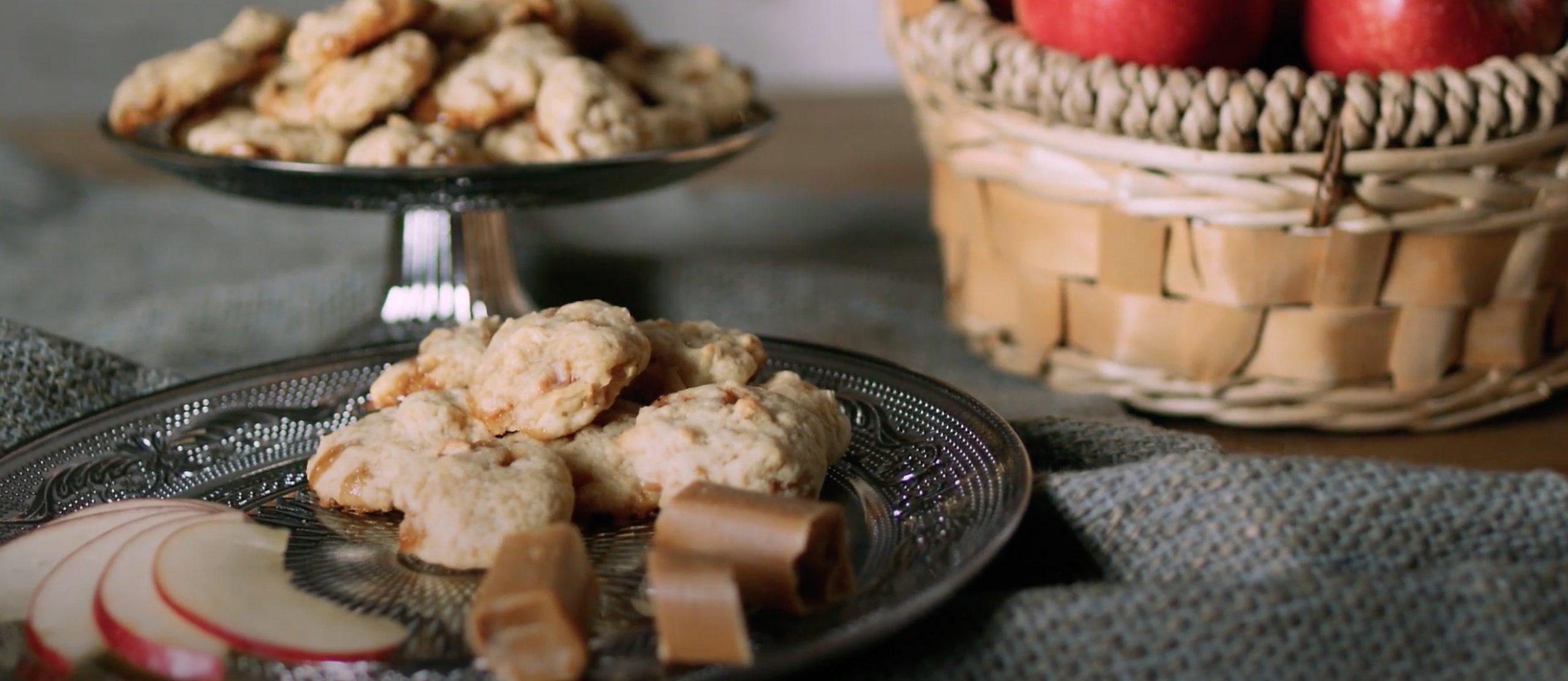 Apfel-Toffee-Kekse - himmlisch saftig und knusprig!